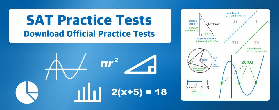 SAT Practice Tests - E Math Academy